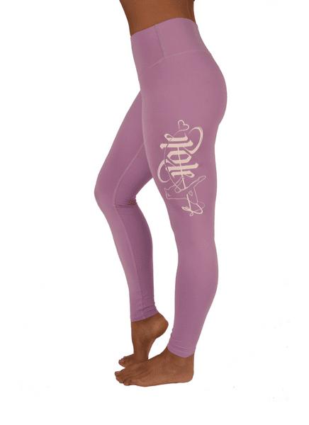 Sarah Scott Off The Pole lang leggings lys lilla lilac